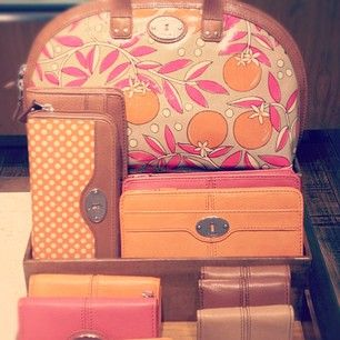 fossil bags & acessories <3
