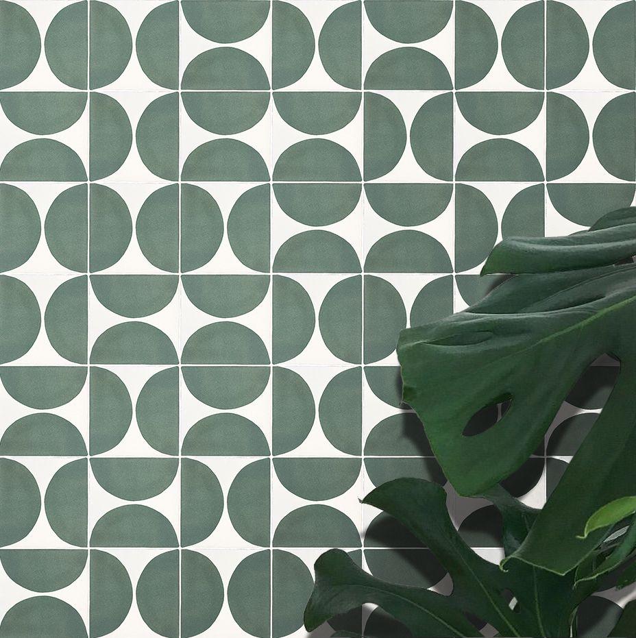 Green Circle Geometrics
