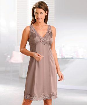 Fond de robe jupon dentelle