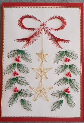 Xmas Tree – forum gallery stitching card of the week | Cards ...
