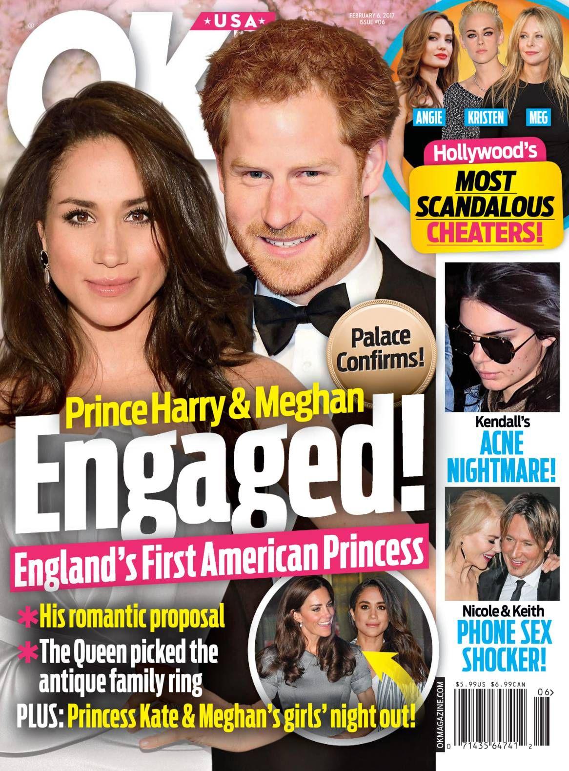Free Download Ok Magazine February 06 2017 He S Found The One Sources Say Prince Harry Has Popped The Nicole Kidman Keith Urban Prince Harry Brad Pitt