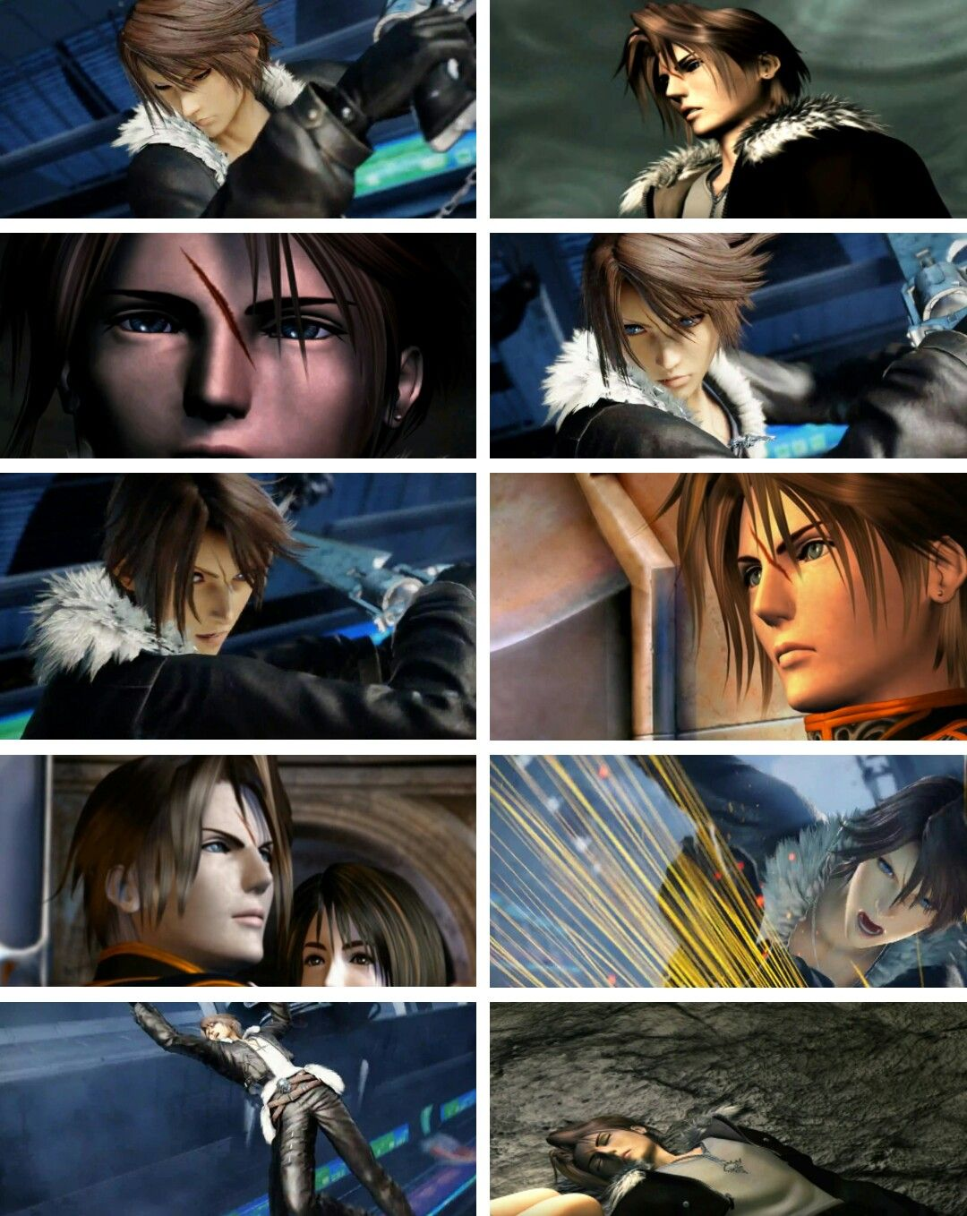 Final Fantasy Anime Porn squall leonhart then/now | eternally ff8 | final fantasy vii
