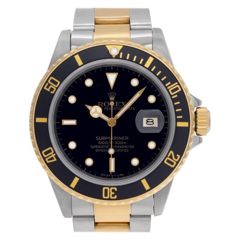 Rolex Submariner 16803 Dial Certified Warranty Contemporary #rolexsubmariner