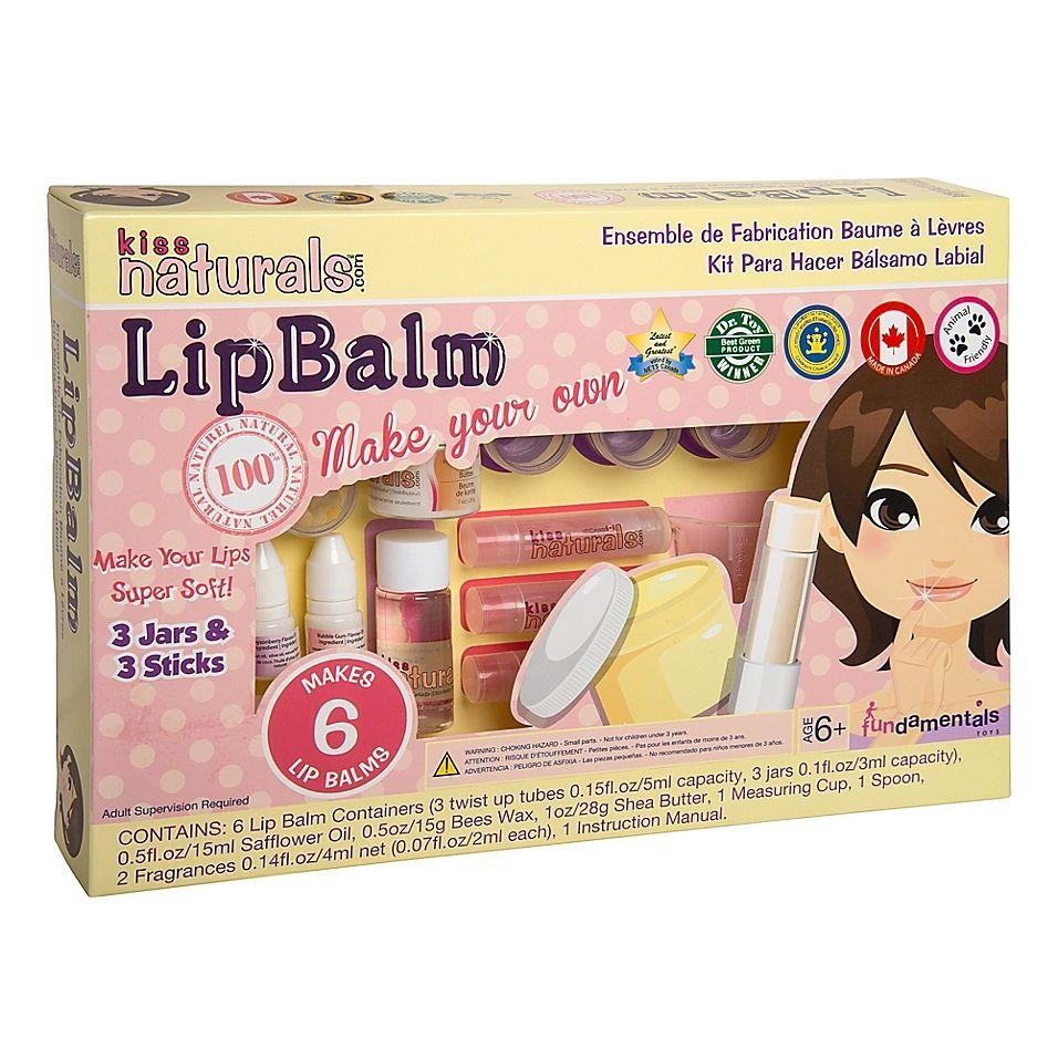 Kiss Naturals Diy Lip Balm Making Kit Multi   Diy lips, Diy crafts ...