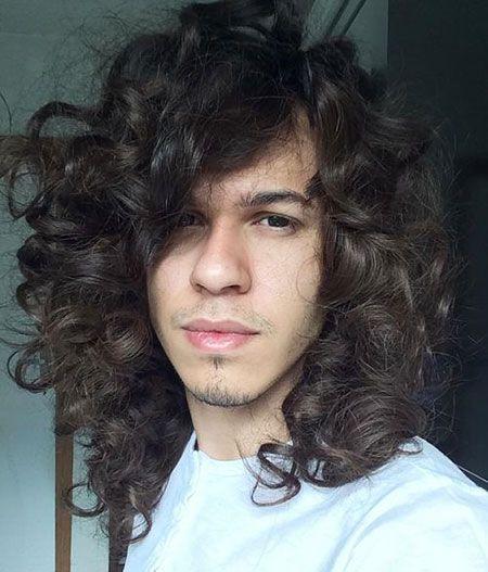Lockige haare lang wachsen lassen manner
