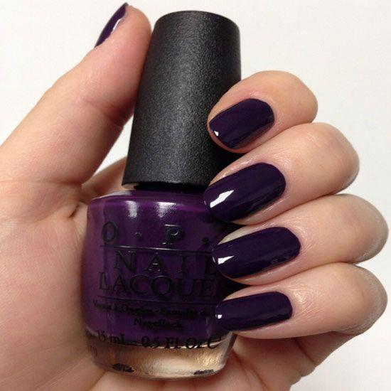 30 Dark Purple Nail Designs #nails #nail_art_designs #nailideas #purplenails - 30 Dark Purple Nail Designs #nails #nail_art_designs #nailideas