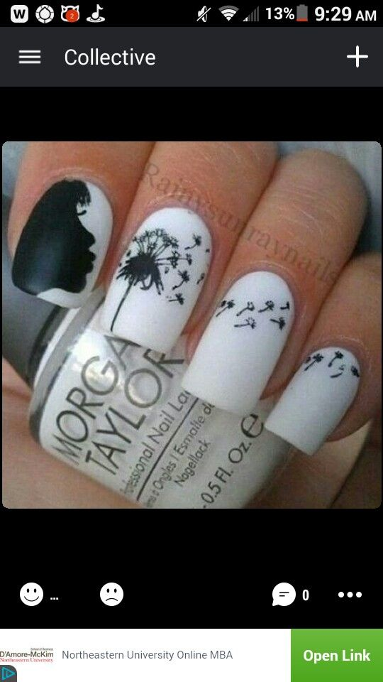 Found this badass nail art idea on ifunny & just had to screenshot ...
