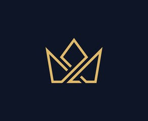 Crown Logo Photos Royalty Free Images Graphics Vectors Videos Adobe Stock Crown Logo Graphic Design Logo Branding Design Logo