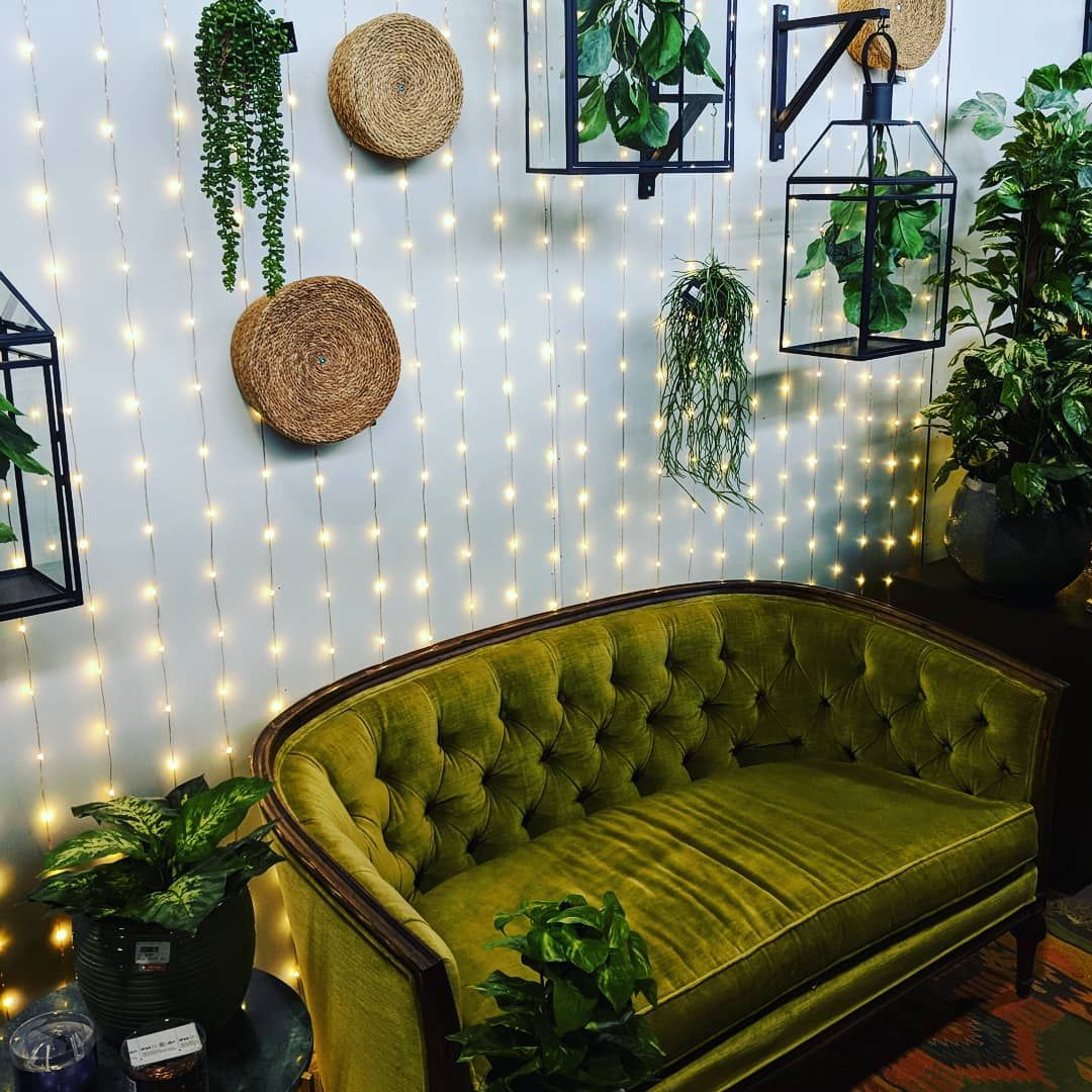 26 Relaxing Green Living Room Ideas: Found This Secret Little Spot At The Toronto Gift Fair