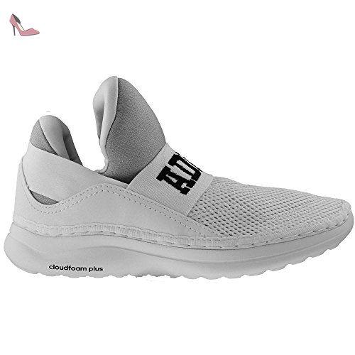new styles 005d5 f131d adidas Cloudfoam Ultra Zen, Chaussures de Tennis Mixte Adulte, Blanc Cassé  (Ftwbla