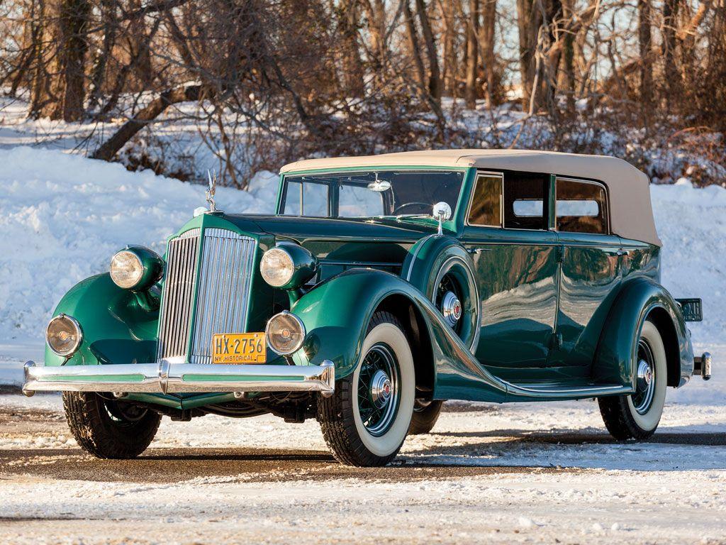 1936 Packard Eight Convertible Sedan Packard Motor Car Company