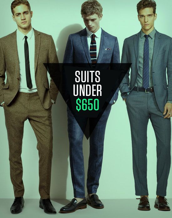 11 Suits Under $650   Affordable suits, Health and For less