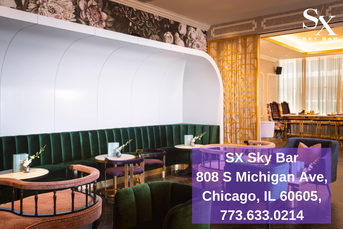 Pin By Sx Sky Bar Chicago On Cocktail Bar In Chicago In 2020 Sky