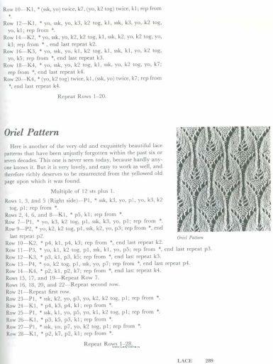 A Second Treasury Of Knitting Patterns Abbinare Tessuti