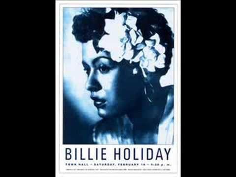 Billie Holiday Town Hall New York City 1948 17X24 Jazz Music Poster Print