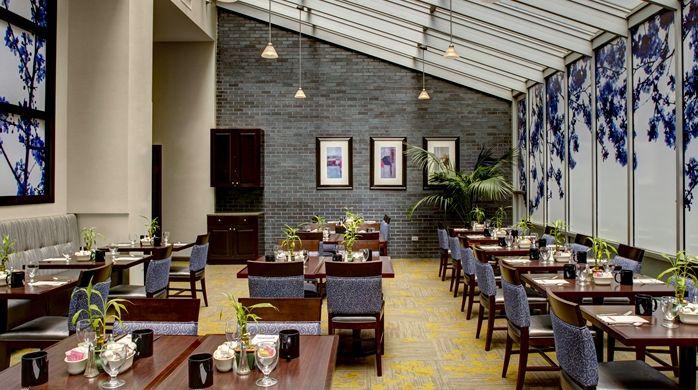 Hilton Garden Inn New York/Manhattan-Chelsea Hotel, NY - Great American Grill - Breakfast Area