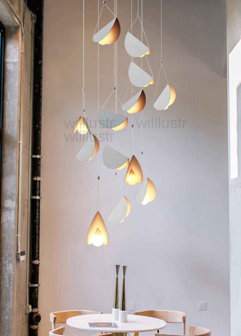 Fliegen Gefaltet Papier Metall Origami Anhanger Lampe Kunst Eisen Suspension Licht Cafe Esszimmer Restaurant Hotel Bar Hangen Beleuchtun In 2020 Anhanger Lampen Beleuchtung Und Schwimmlichter