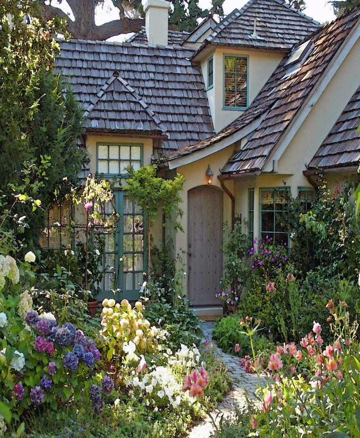 The Overgrown English Cottage Garden Cottage Garden Design