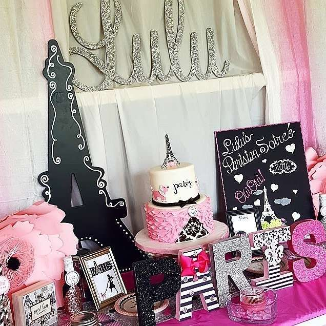 Paris Themed Party Decoration Ideas Part - 15: What A Stunning Paris Birthday Party! See More Party Ideas At  CatchMyParty.com!