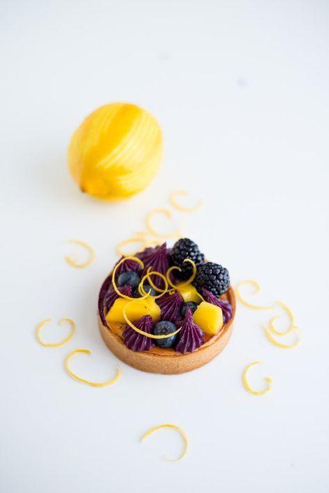 Photo of Tartelettes mit Cassis, Mango und Beeren | | Rezept | Französisch kochen