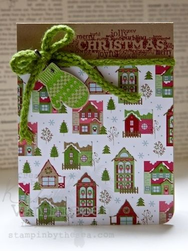 """""""Christmas"""" a Handmade Greeting Card created for Stamping By The Sea (stampimgbythesea.com)"""