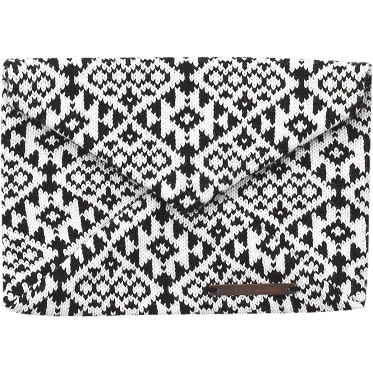 Envelope Clutch // White and Black from Society B