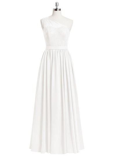 AZAZIE ROCHELLE. Rochelle is our floor-length dress in an A-line/princess cut. #Bridesmaid #Wedding #CustomDresses #AZAZIE