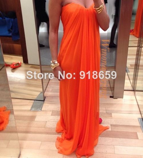 Sweetheart vestido de noiva pregnant woman Evening Dress Long Chiffon Elegant Prom Dresses $125.00
