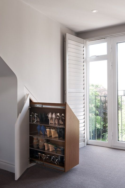 Category » home design « @ DIY Home Decor shoe rack under the stairs ...