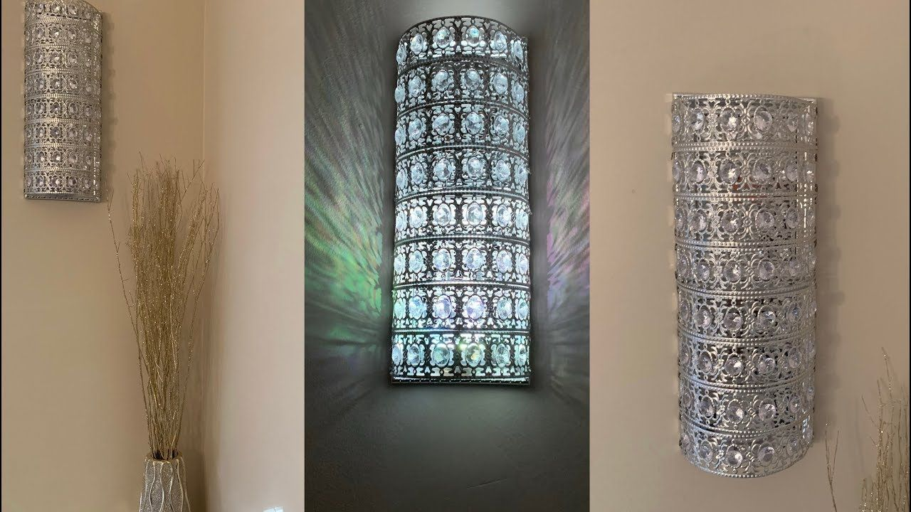 Decorating Ideas 2019 Gÿ Crystal Wall Sconces Inexpensive