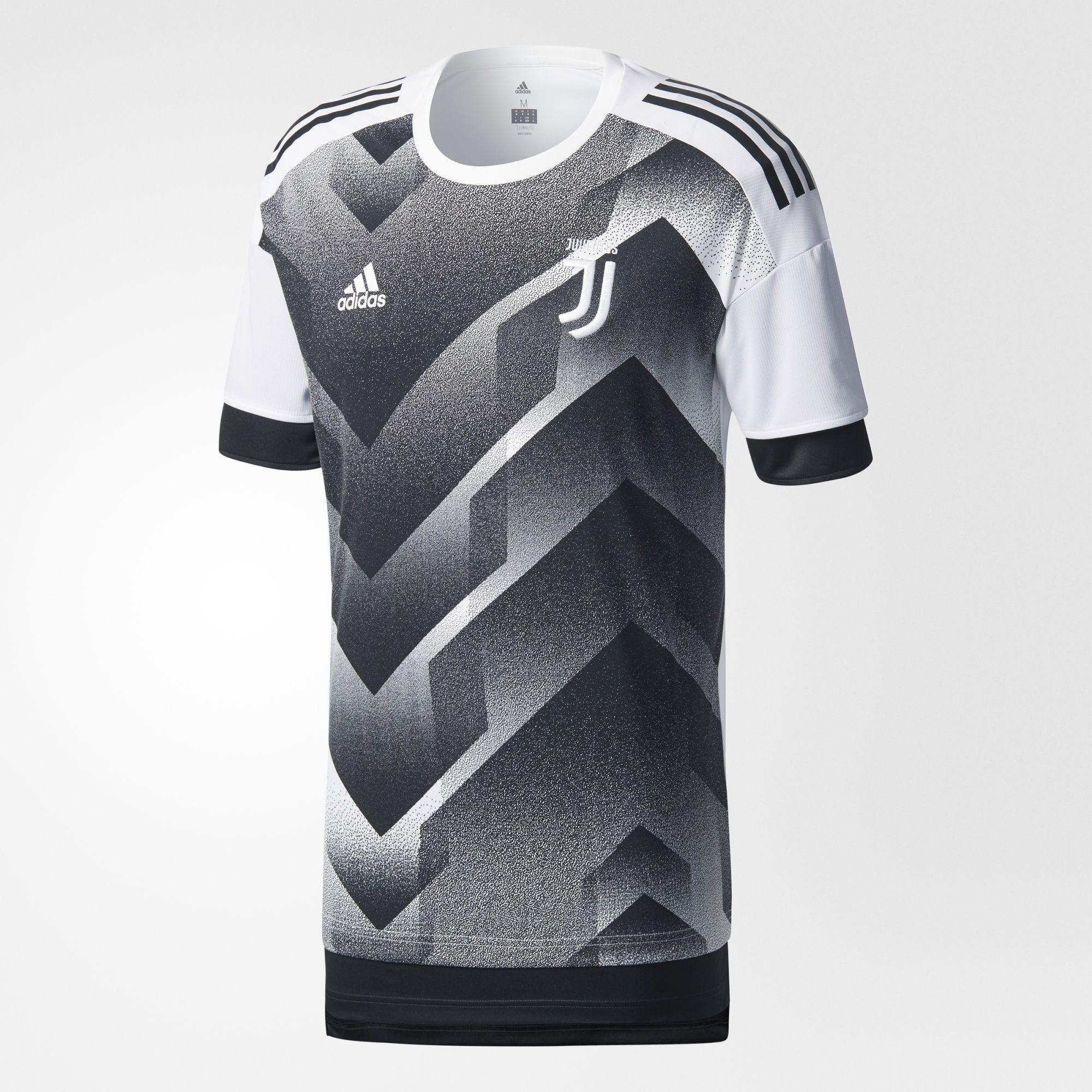 49bf64bddafe3 adidas Juventus Pre Match Jersey 17 18