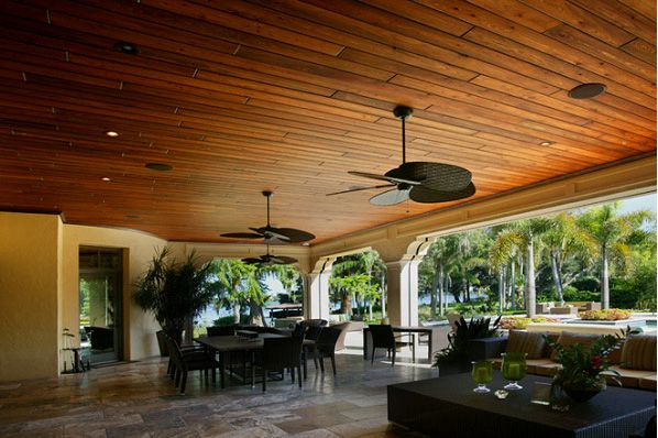 Wood Ceiling Designs | Wood Ceilings Lanai And Patio Ceilings   Certified  Quality Roofing