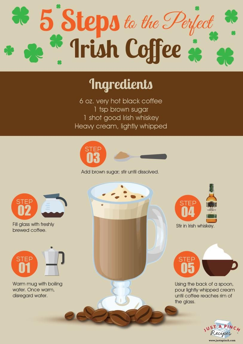 5 Steps To The Perfect Irish Coffee Just A Pinch Fireside Coffee Mix Recipe Irish Coffee Coffee Recipes