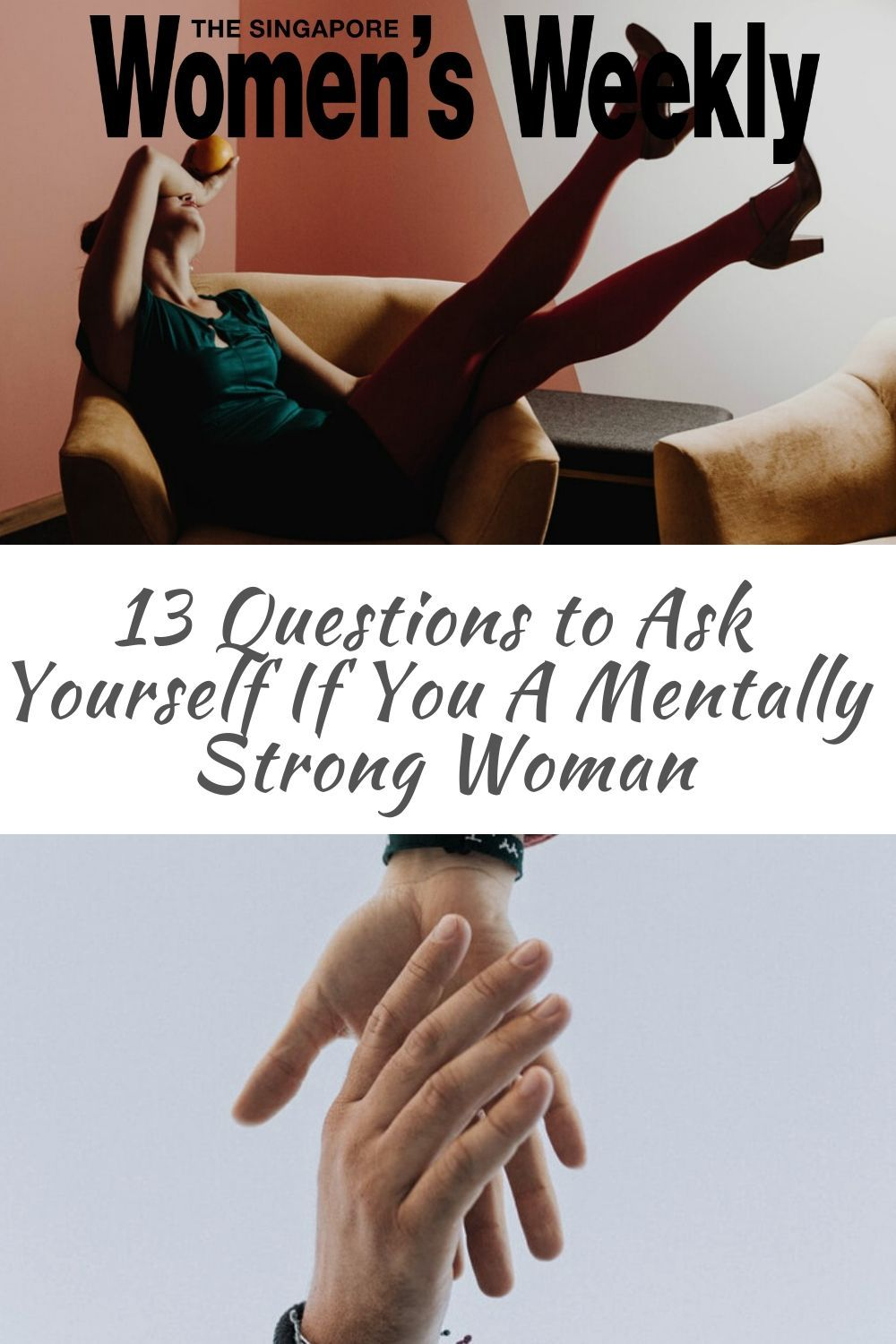 Are you a mentally strong woman ask yourself these 13