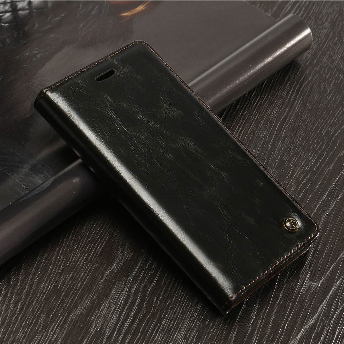 Luxury PU Leather Wallet Card Holder Flip Standfor iPhone 7 and 7
