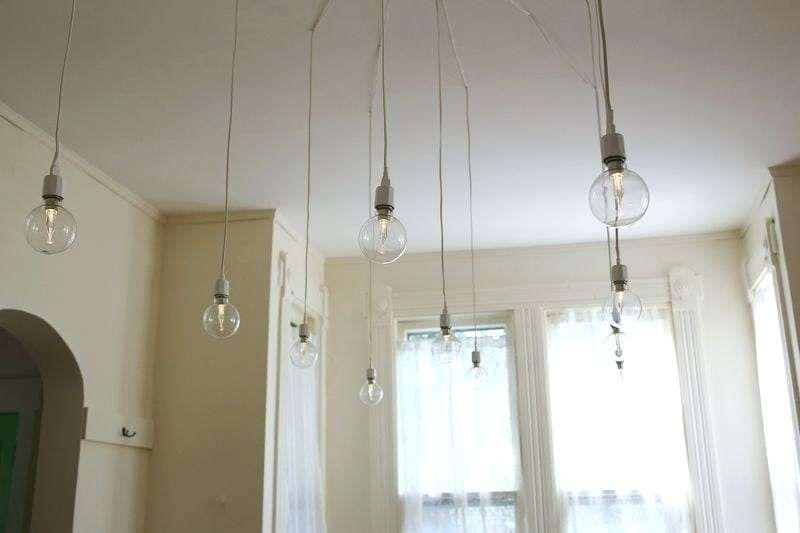 Ceiling Lighting Without Wiring Diy Light Fixtures Install Ceiling Light Diy Lighting