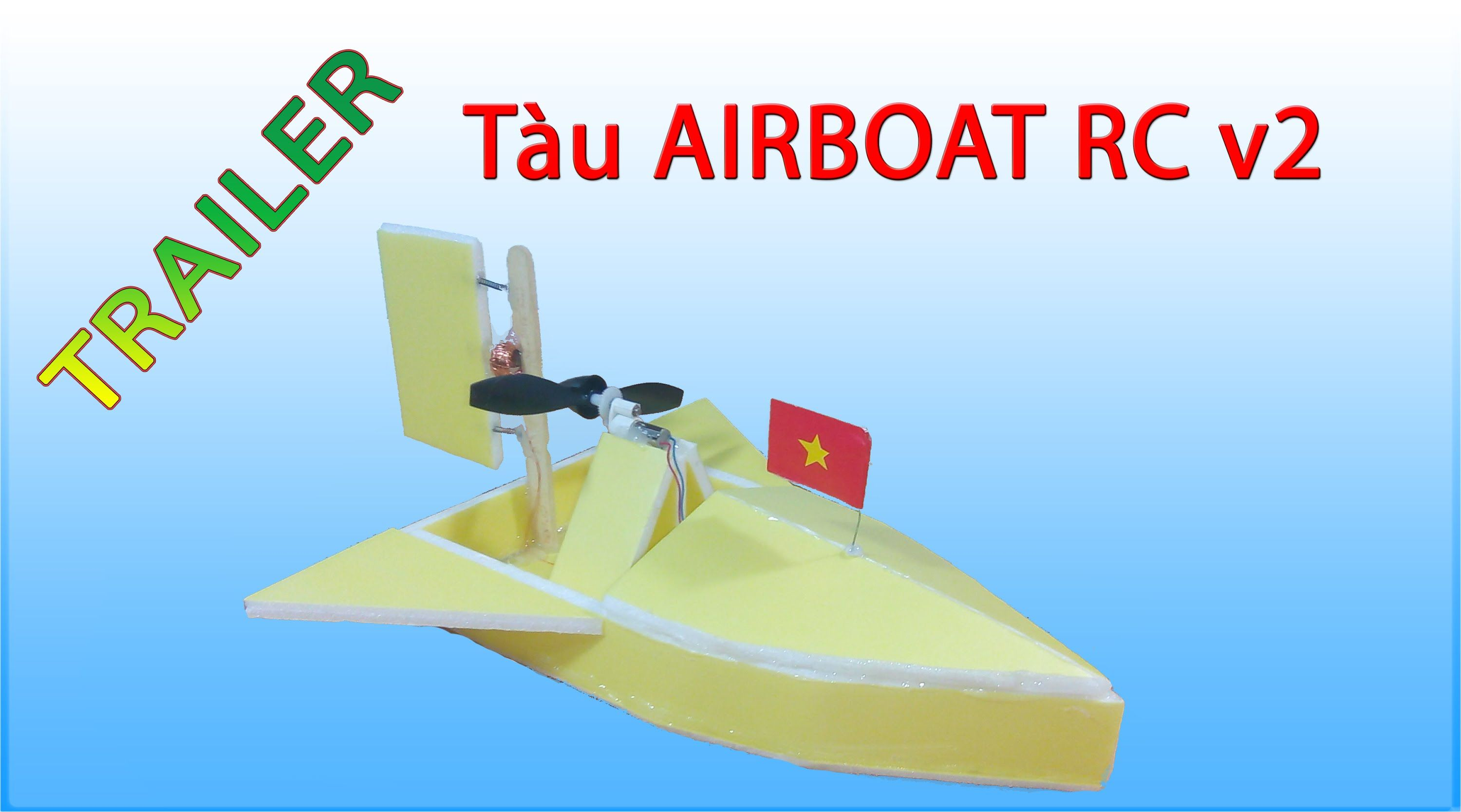 Trailer t lm tu airboat rc mini v2 by kst kenhsangtao trailer t lm tu airboat rc mini v2 by kst kenhsangtao sciox Image collections