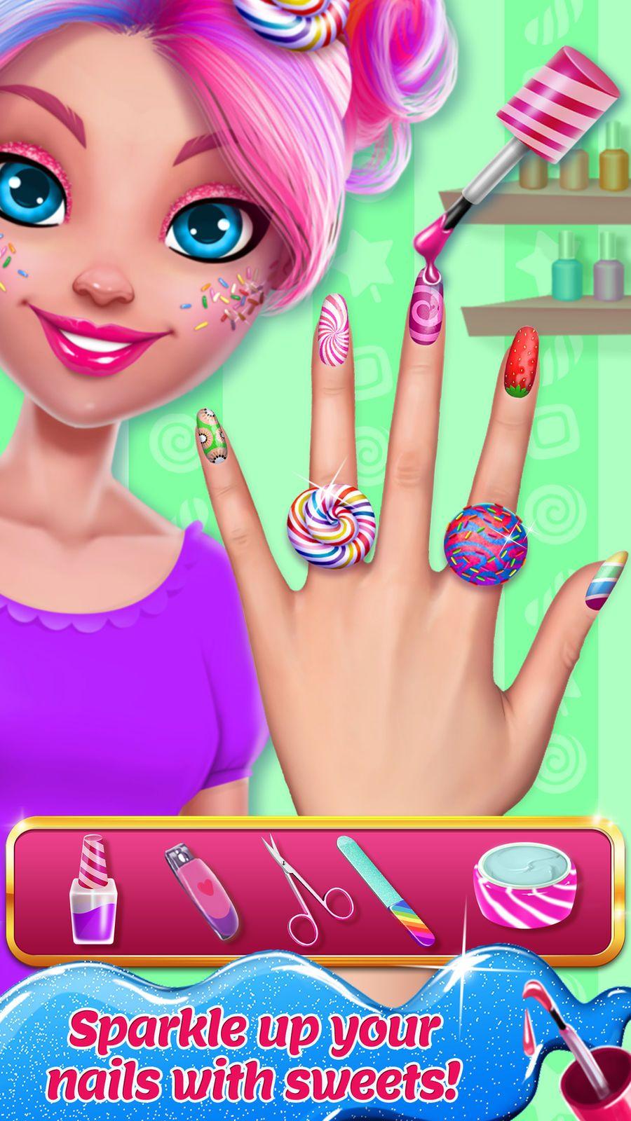 Candy makeup beauty game familygamesroleentertainment