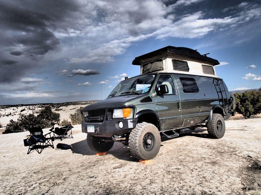 Sportsmobile Sportsmobile, Overland vehicles, Adventure