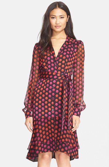 Diane von Furstenberg 'Catherine Two' Silk Print Dress | Nordstrom