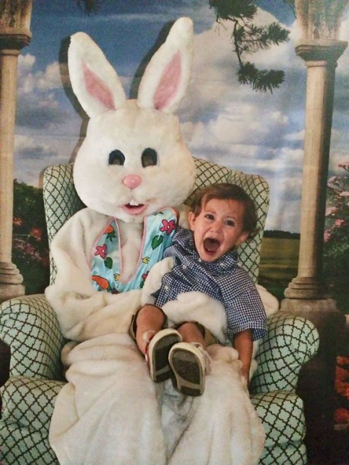 My Sons School Easter Picture