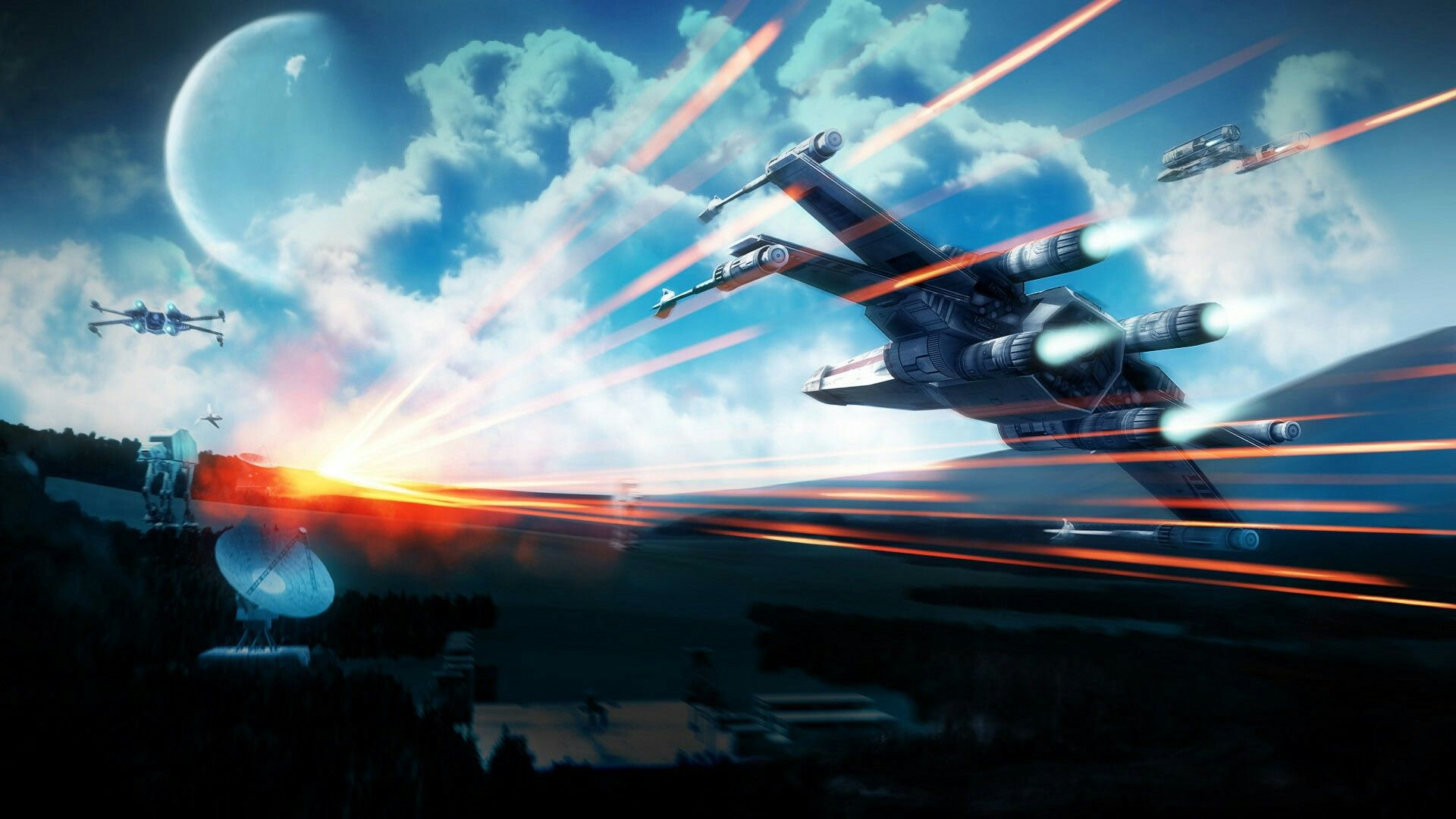 X Wing Strike Star Wars Wallpaper Star Wars Pictures Star Wars Battlefront