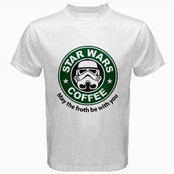Star Wars Coffee T-Shirt.  Make it a Star Wars Father's Day