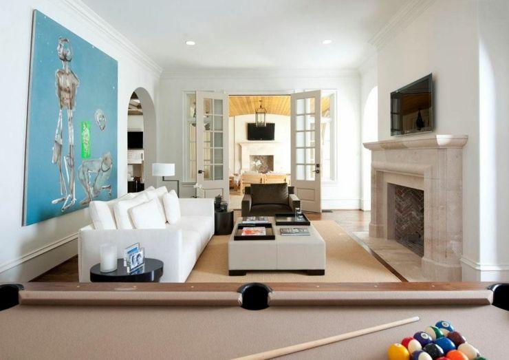 Mobilier design moderne et chic pour cette belle maison