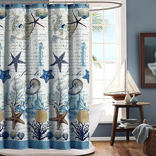 Ds Design Under The Sea Shower Curtain Waterproof Polyester Fabric