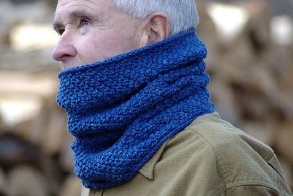 Men\'s Crochet Cowl Pattern by Hiddenmeadowcrochet   Hidden Meadow ...