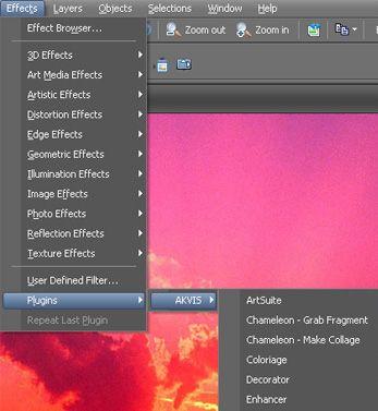 Effects and Plugins in PaintShop Pro | paintshop pro stuff | Paint