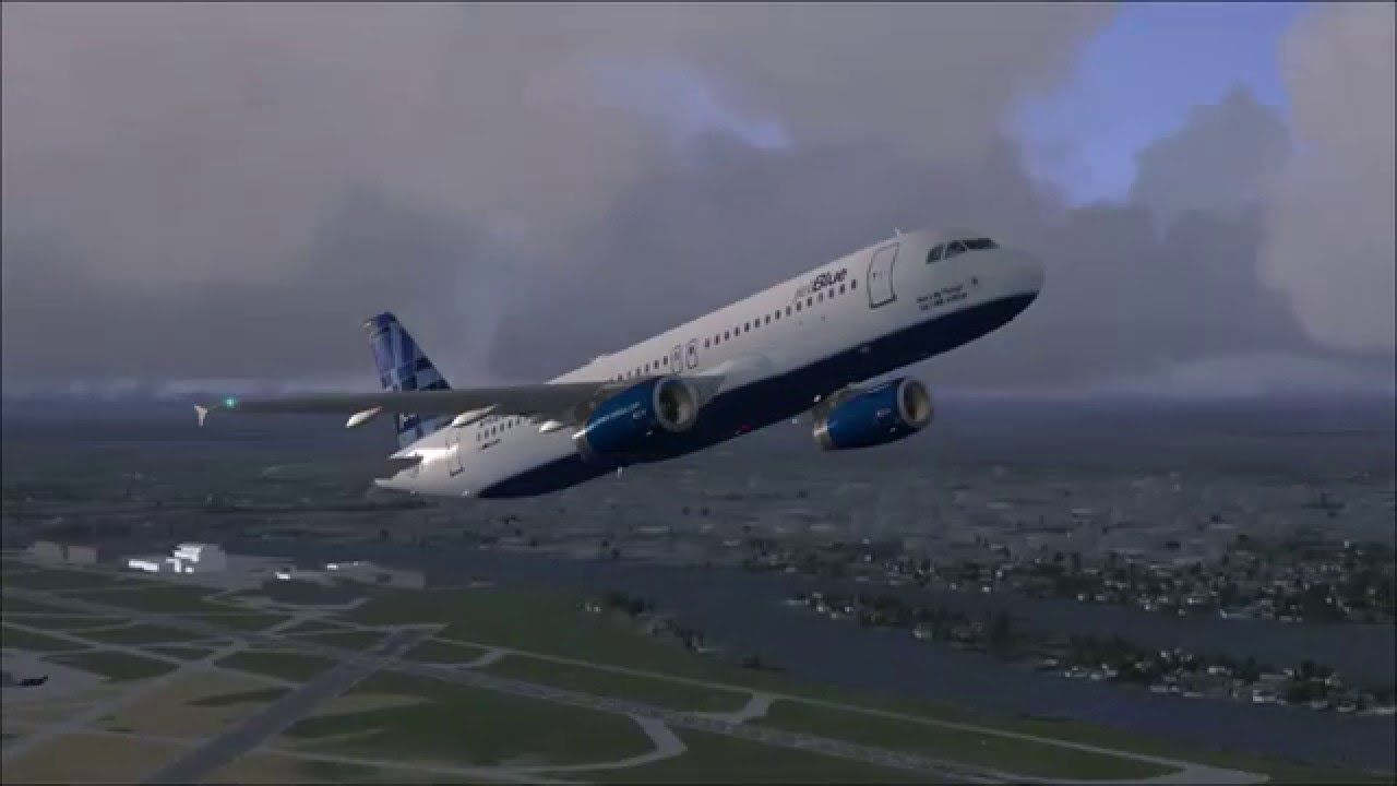 Fsx Take Off At Vancouver Airport With Airbus A320 Jet Blue Airbus Jetblue Vancouver