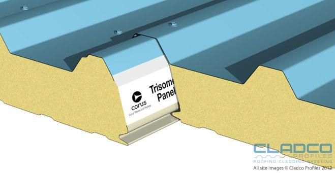 Insulated Composite Panel Roof System Coated Metal Top
