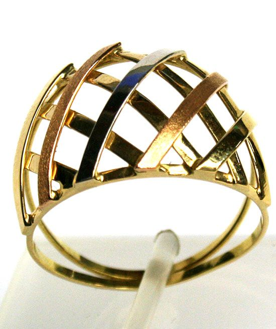 Anel em Ouro 18k ( 03 Cores )  - R$ 676,00